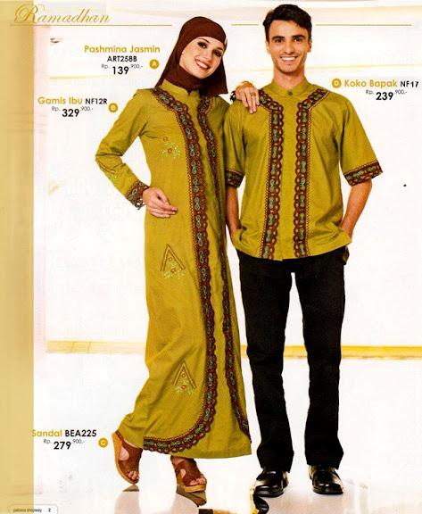 Desain Baju Muslim Keluarga Untuk Lebaran